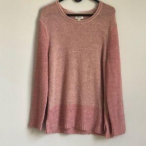NWT Style & Co Mixed Stitch Women's Sweater